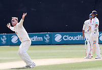 Simon Harmer of Essex appeals for a wicket during Essex CCC vs Warwickshire CCC, Specsavers County Championship Division 1 Cricket at The Cloudfm County Ground on 16th July 2019