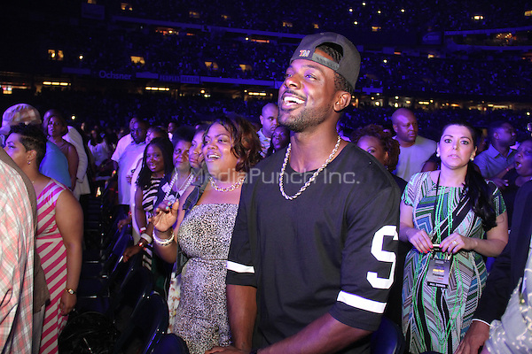 NEW ORLEANS, LA - JULY 5:Lance Gross attends the 20th Anniversary of the Essence Festival at the Mercedes Benz Superdome, July 5, 2014 in New orleans, Louisiana. Credit: Walik Goshorn/MediaPunch