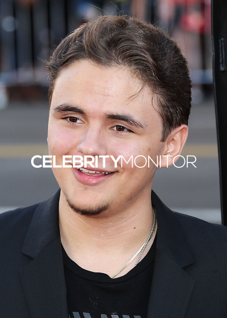 HOLLYWOOD, LOS ANGELES, CA, USA - JUNE 17: Prince Jackson arrives at the Los Angeles Premiere Of HBO's 'True Blood' Season 7 held at the TCL Chinese Theatre on June 17, 2014 in Hollywood, Los Angeles, California, United States. (Photo by Xavier Collin/Celebrity Monitor)
