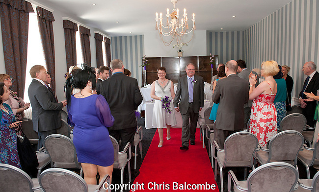 The Wedding of Mike and Debbie, at the Dolphin Hotel in Southampton, Hampshire<br /> <br /> Pictures by Chris Balcombe  07568 098176