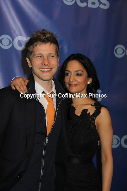 The Good Wife - Matt Czuchry  & Archie Panjabi at the CBS Upfront 2011 on May 18, 2011 at Lincoln Center, New York City, New York. (Photo by Sue Coflin/Max Photos)