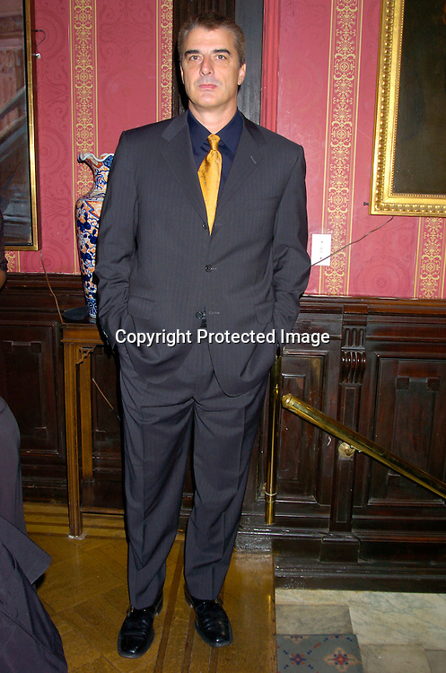 Chris Noth..at the National Arts Club which honored Paul Sorvino ..with their Medal of Honor on April 21, 2004 in New York City. Photo by Robin Platzer, Twin Images