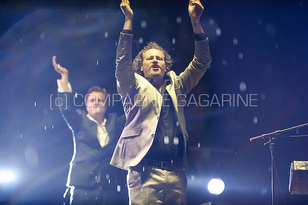Concert of the Belgian band Daan at the Woosha festival (Belgium, 19/07/2014)