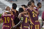 Ibagué- Deportes Tolima venció 2 goles por 0 a Águilas Doradas, en el partido correspondiente a la décima segunda fecha del Torneo Clausura 2014, desarrollado el 27 de septiembre en el estadio Manuel Murillo Toro.