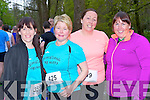 Glenflesk ag Rith runners at the Feet First 5km in Killarney on Friday l-r: Mary Murphy, Cathy O'Sullivan, Marie Crowley, and Michelle Morris