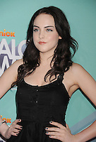 HOLLYWOOD, CA - OCTOBER 26: Elizabeth Gillies arrives at the 3rd Annual TeenNick HALO Awards at Hollywood Palladium on October 26, 2011 in Hollywood, California. /NortePhoto.com<br />