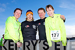 Mary Reidy, Catriona Chester, John Brick and Maire Hayes at the Valentines 10 mile road race in Tralee on Saturday.