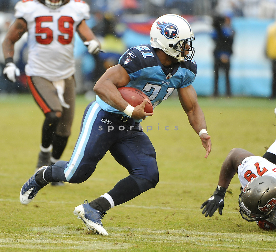JAVON RINGER, of the Tennessee Titans, in action during the Titans game against the Tampa Bay Buccaneers on November 27, 2011 at LP Field in Nashville, TN. Tennessee beat Tampa Bay 23-17