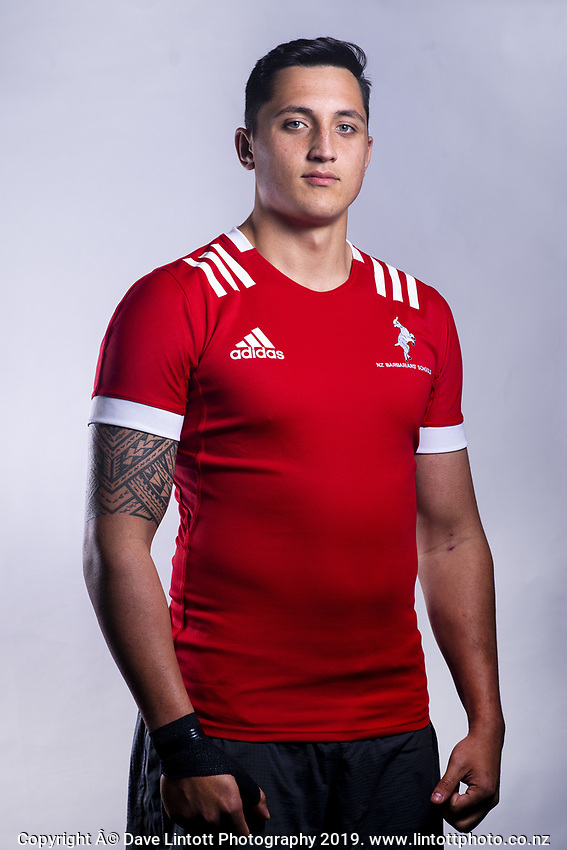 James Brown (King's College). 2019 New Zealand Schools Barbarians rugby union headshots at the Sport & Rugby Institute in Palmerston North, New Zealand on Wednesday, 25 September 2019. Photo: Dave Lintott / lintottphoto.co.nz