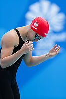 Picture by Alex Whitehead/SWpix.com - 05/04/2018 - Commonwealth Games - Swimming - Optus Aquatics Centre, Gold Coast, Australia - Eleanor Faulkner of England competes in the Women's 200m Freestyle heats.