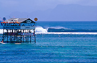 Judging Tower and line up, G-Land Pro, Indonesia..photo:  joliphotos.com