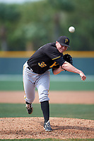 Pittsburgh Pirates Nick Neumann (39) during a minor league Spring Training game against the New York Yankees on April 1, 2016 at Pirate City in Bradenton, Florida.  (Mike Janes/Four Seam Images)