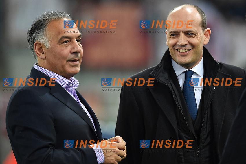 James Pallotta, Mauro Baldissoni <br /> Roma 02-03-2015 Stadio Olimpico Football Calcio Serie A AS Roma - Juventus. Foto Andrea Staccioli / Insidefoto