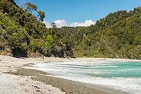Smoothwater Bay near Jackson Bay, South Westland, West Coast, World Heritage Area, South Island, New Zealand