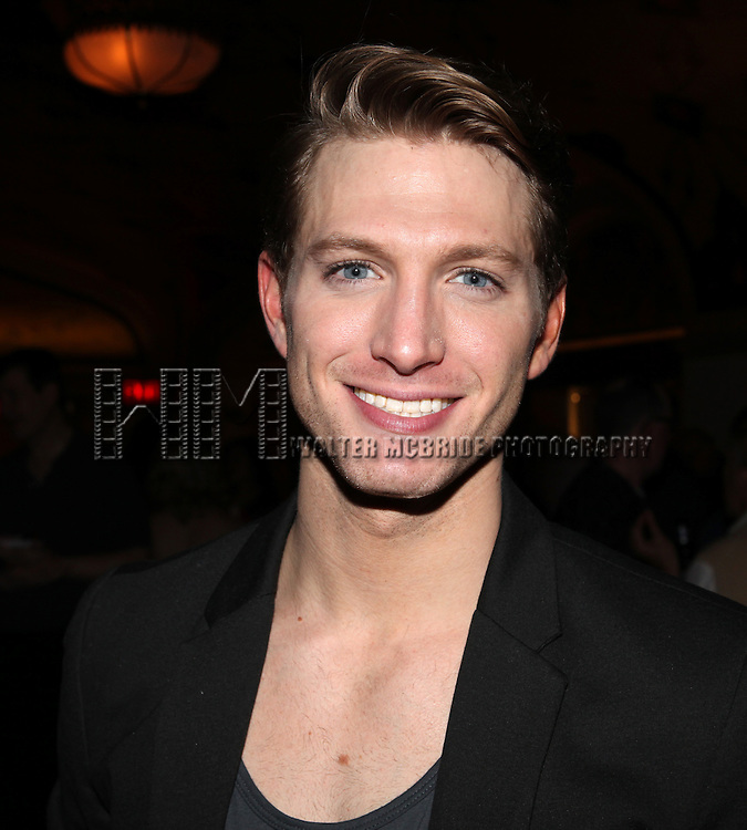 Eric Bourne.attending the reception for the final performance of the New York City Center ENCORES! Production of 'Gentlemen Prefers Blondes' at City Center in New York City on 5/13/2012.