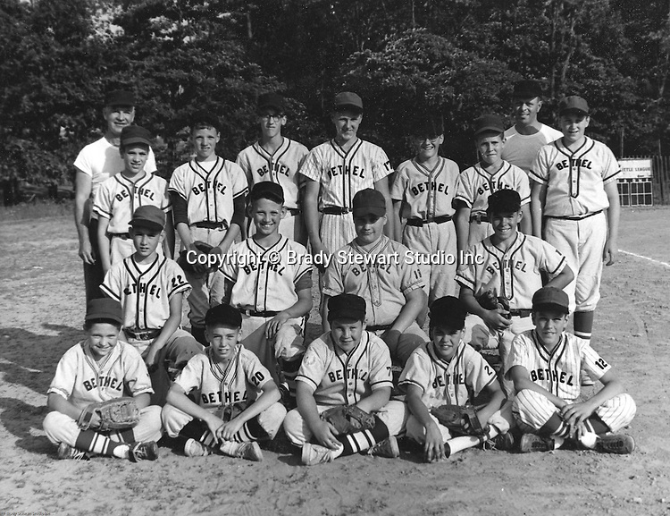 Bethel Park PA: Photo of the Bethel Park Little League All-Stars - 1965.  Members include; Jack Synder, Bobby Uhler, Gary Smith, Ron Thulin, Carl Long, Don Troup, Bill Mullen, David Page, Mike Stewart, Joe Fredley and can't remember the others.