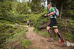Patrick Lejosne - Chamonix trail running marathon 2016, Mont Blanc 4810m, Chamonix, Haute Savoie, French Alps, France, Europe
