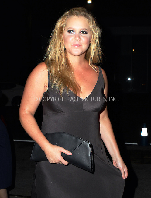 WWW.ACEPIXS.COM<br /> <br /> September 15 2015, New York City<br /> <br /> Amy Schumer arriving at the Narciso Rodriguez Spring 2016 fashion show during New York Fashion Week at SIR Stage 37 on September 15, 2015 in New York City<br /> <br /> By Line: Nancy Rivera/ACE Pictures<br /> <br /> <br /> ACE Pictures, Inc.<br /> tel: 646 769 0430<br /> Email: info@acepixs.com<br /> www.acepixs.com