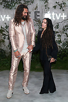 "LOS ANGELES - OCT 21:  Jason Momoa, Lisa Bonet at the Apple TV+'s ""See"" Premiere Screening at the Village Theater on October 21, 2019 in Westwood, CA"