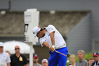 Hideki Matsuyama (JPN) tees off the 17th tee during Sunday's Final Round of the WGC Bridgestone Invitational 2017 held at Firestone Country Club, Akron, USA. 6th August 2017.<br /> Picture: Eoin Clarke | Golffile<br /> <br /> <br /> All photos usage must carry mandatory copyright credit (&copy; Golffile | Eoin Clarke)