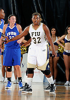 Florida International University forward Tynia McKinzie (32) plays against Lynn University.  FIU won the game 68-30 on November 30, 2011 at Miami, Florida. .