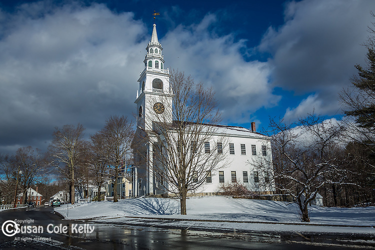 The third Meetinghouse in Fitzwilliam, New Hampshire, USA