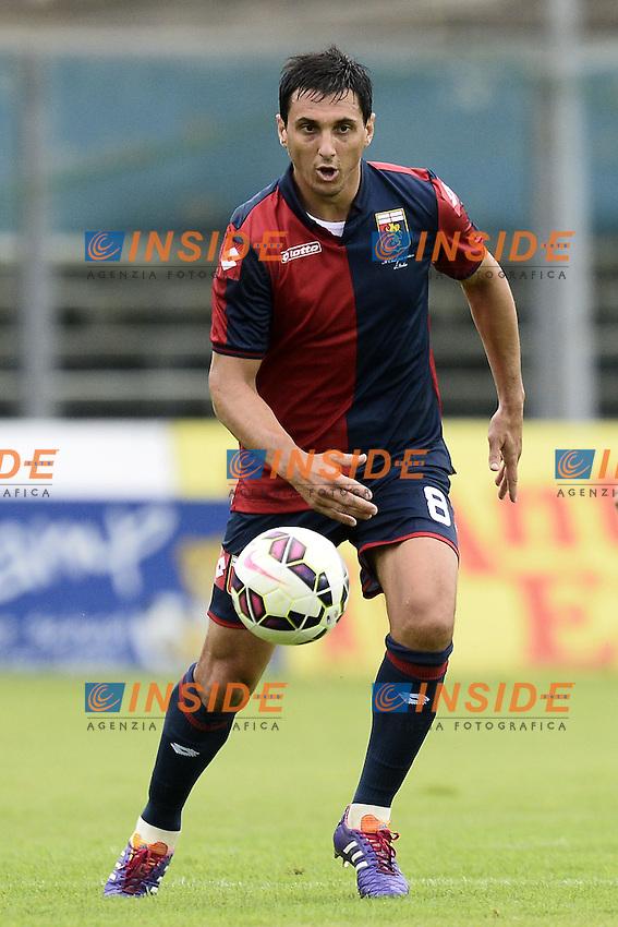 Nicolas Burdisso Genoa <br /> <br /> Brescia 26-07-2014 Stadio Mario Rigamonti  <br /> Calcio 2014/2015 Brescia - Genoa <br /> Foto Daniele Buffa / Image/ Insidefoto
