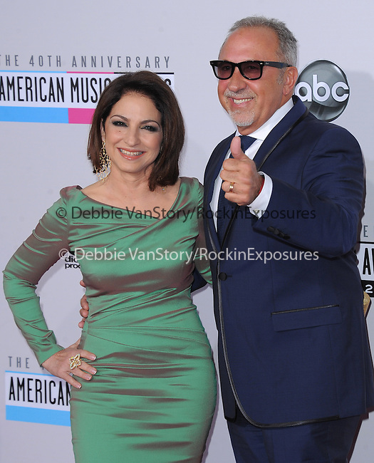 Gloria Estefan and Emilio Estefan at The 2011 MTV Video Music Awards held at Staples Center in Los Angeles, California on September 06,2012                                                                   Copyright 2012  DVS / Hollywood Press Agency