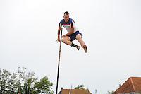 FIERLJEPPEN: FRYSLAN: ©foto Martin de Jong