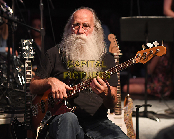 MIAMI, FL - DECEMBER 08: Leland Sklar performs with Phil Collins during rehearsals for the Little Dreamers Foundation Gala at SIR Studios on December 8, 2017 in Miami Florida. <br /> CAP/MPI04<br /> &copy;MPI04/Capital Pictures