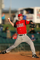 May 2, 2010: Erik Davis of the Lake Elsinore Storm during game against the Lancaster JetHawks at Clear Channel Stadium in Lancaster,CA.  Photo by Larry Goren/Four Seam Images