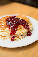 Guglhupf pancakes city}, N.C. on Friday, March 7, 2014. (Justin Cook)
