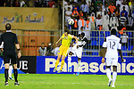Al Shabab vs Pakhtakor during the 2015 AFC Champions League Group B match on March 03, 2015 at the Prince Faisal Bin Fahd Stadium in Tabriz, Iran. Photo by Adnan Hajj / World Sport Group