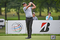 Charl Schwartzel (RSA) watches his tee shot on 3 during 1st round of the World Golf Championships - Bridgestone Invitational, at the Firestone Country Club, Akron, Ohio. 8/2/2018.<br /> Picture: Golffile | Ken Murray<br /> <br /> <br /> All photo usage must carry mandatory copyright credit (&copy; Golffile | Ken Murray)