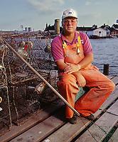 "Denny Crockett, Mayor, Tangier Island, VA for ""Preservation"" magazine"