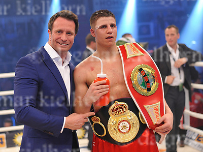 March 25-17,MBS Arena, Potsdam, Brandenburg, Germany<br /> WBA World super middleweight title<br /> Global Boxing Union World super middleweight title<br /> Super Middleweight	Championship<br /> Tyron Zeuge,Berlin, Germany vs Isaac Ekpo ,Abuja, Nigeria	<br /> Tyron Zeuge won by points with a fifth round technical decision over Isaac Ekpo-The fight was stopped due to injury, cut in round five.<br /> Winner with his promoter,Kalle Sauerland and belts.