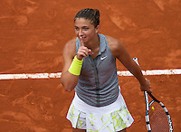 France, Paris, 02.06.2014. Tennis, French Open, Roland Garros, Sara Errani (ITA)  <br /> Photo:Tennisimages/Henk Koster