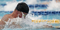 Swimming 55&deg; Settecolli trophy Foro Italico, Rome on June 30, June 2018.<br /> Swimmer Adam Peaty, of Great Britain, competes in the men's 50 meters Breaststroke at the Settecolli swimming trophy in Rome, on June 30, 2018.<br /> UPDATE IMAGES PRESS/Isabella Bonotto