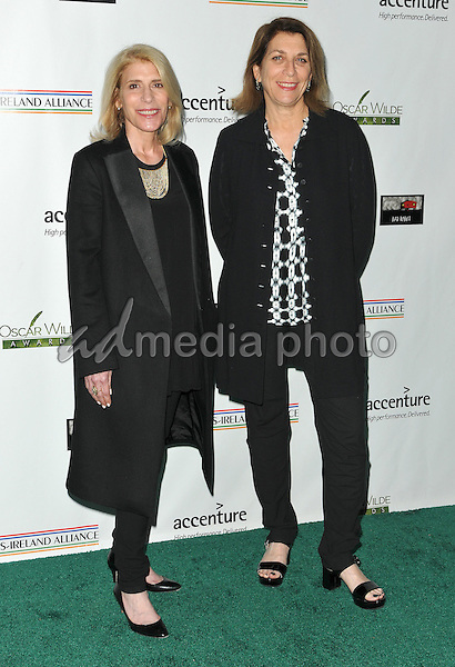 25 February 2016 - Santa Monica, California - Mary Jo Markey and Maryann Brandon. 2016 Oscar Wilde Awards sponsored by the US-Ireland Alliance held at Bad Robot. Photo Credit: Koi Sojer/AdMedia