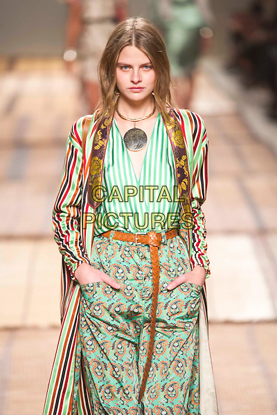 ETRO<br /> Milan Fashion Week  ss17<br /> on September 25, 2016<br /> CAP/GOL<br /> &copy;GOL/Capital Pictures