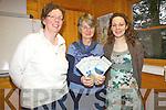 Some of the organisers behind the Coiste Éigse na Brídeoíge pictured here l-r; Caitlin Breathnach(Comhchoiste), Fíona de Buis & Mairéad Ní Mhathuns(Comhchoiste).