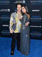 "LOS ANGELES, USA. December 17, 2019: Daniel Logan & Guest at the world premiere of ""Star Wars: The Rise of Skywalker"" at the El Capitan Theatre.<br /> Picture: Paul Smith/Featureflash"