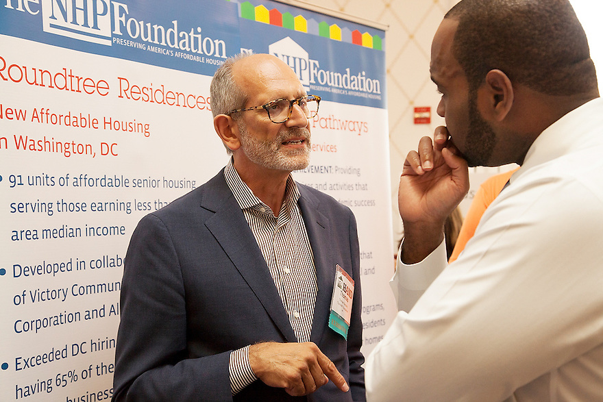 The Housing Association of Nonprofit Developers (HAND) held their 23rd Annual Meeting &amp; Housing Expo on June 16, 2014 at the Omni Shoreham Hotel in Washington, DC. Events included an expo featuring their members and supporters, an awards ceremony and plenary session. <br /> <br /> Photos by Momenta Creative <br /> (http://www.MomentaCreative.com)