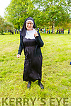 Dancing Nun Kim Ferguson gathering in an attempt to break the Guinness World Record in the Tralee Town Park's fundriaser for the Tralee Rowing Club and Pieta House on Saturday.