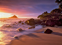 Sunrise at Hamoa Beach. Maui, Hawaii