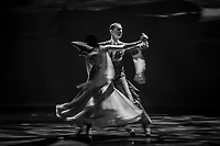 Domen Krapez and Naascha Karabey perform during of Rendezvous with the World Champions 2019 at The Hong Kong Academy for Performing Arts, Wan Chai, Hong Kong, on 13  December 2019, Hong Kong SAR, China.  Photo by : Ike Li / Ike Images