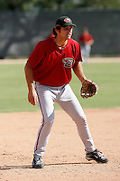 Ryan Wheeler - Arizona Diamondbacks 2009 Instructional League .Photo by:  Bill Mitchell/Four Seam Images..