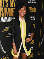 "08 May 2019 - Los Angeles, California - Karen Civil. ""What's My Name: Muhammad Ali"" HBO Premiere held at Regal Cinemas LA LIVE 14. Photo Credit: Billy Bennight/AdMedia"