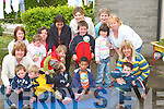 BIG TODDLE: Taking part in The Danone Big Toddle for Barnardos on Wednesday last were children from the Brothers Of Charity Pre-school, Hollytree Drive, Listowel. Photographed are Michelle Costello, Chloe Houlihan, Bryan Nolan, Jerry Daly, Tom OConnor, Declan and David McEnery, Niall Foley and Kyle Flahive, with the staff Hannah Carmody, Joanne Buckley, Sheila Cahill, Mary Hickey, Mary Sheehy, Liz Fennell, Samra Tahir and Sheila Langan..
