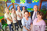 Staff at the childrens ward at Tralee General Hospital on Monday from left: Sinead Coffey, Joan McGrath, Karen Lovett, Edel Leen, Helen O'Sullivan, Dr. Fergus Leahy and Mairead O'Connor.
